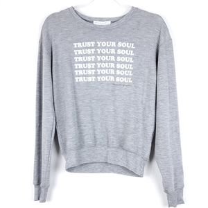 Spiritual Gangster Trust your soul Crew Neck